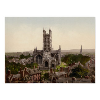 Gloucester Cathedral I, Gloucestershire, England Poster
