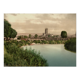 Gloucester Cathedral II, Gloucestershire, England Poster