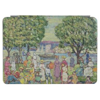 Gloucester Harbour (oil on canvas) iPad Air Cover