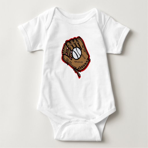 glove baby bodysuit