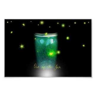Glow Bugs Poster