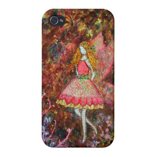 Glow (fairy) art by Janelle Nichol iPhone 4 Cases