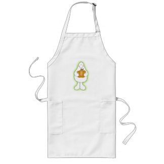 Glow Ghost Long Apron