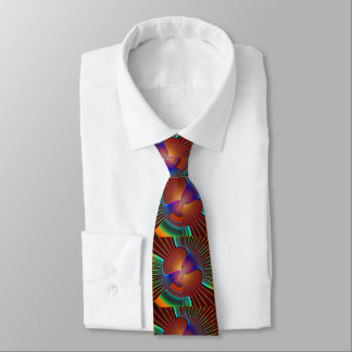Glow In The Dark Swirls Tie