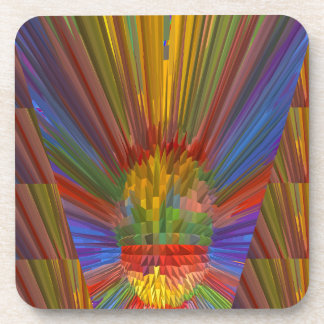 Glow Museaum of Art - Gifts Greetings Love miracle Coaster
