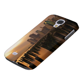 Glow of sunset during stormy skies over East Galaxy S4 Case
