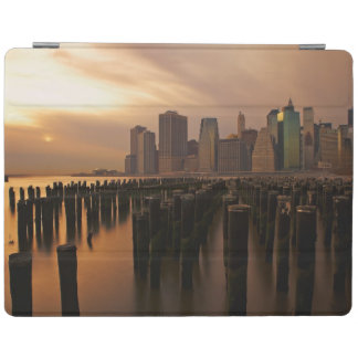 Glow of sunset during stormy skies over East iPad Cover