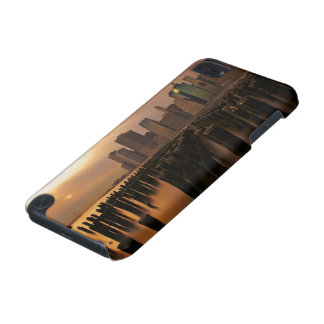 Glow of sunset during stormy skies over East iPod Touch 5G Case