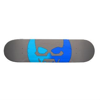 Glow Skull - Blue Skate Decks