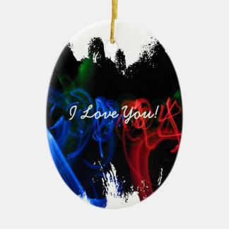 Glow Sticks in the Dark; Sweet Nothings Christmas Ornament