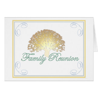 Glow Tree Family Reunion Invitation