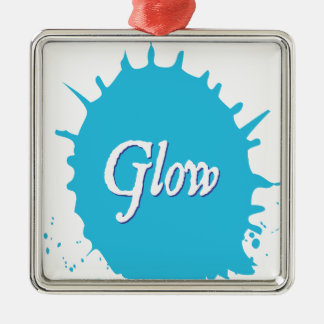 GLOW with happiness! Christmas Ornament