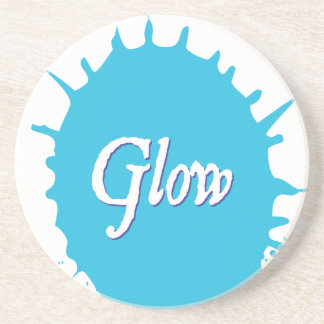 GLOW with happiness! Drink Coaster