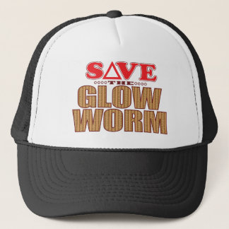 Glow Worm Save Trucker Hat