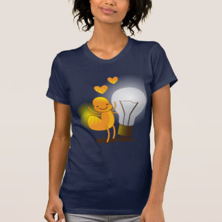 Glow Worm! with a light globe super cute! T-shirts