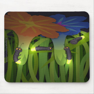 Glow Worms at Night Mousepad