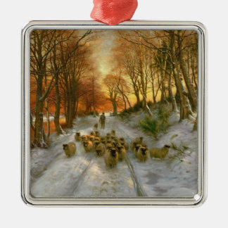 Glowed with Tints of Evening Hours Christmas Ornament