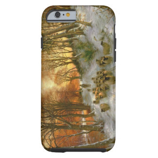Glowed with Tints of Evening Hours Tough iPhone 6 Case
