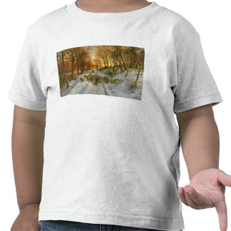 Glowed with Tints of Evening Hours T Shirt