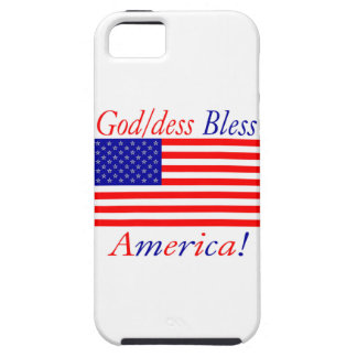 Glowees God/dess Bless America! iPhone 5 Cases