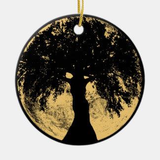 Glowees Moon Oak Goddess Christmas Ornament