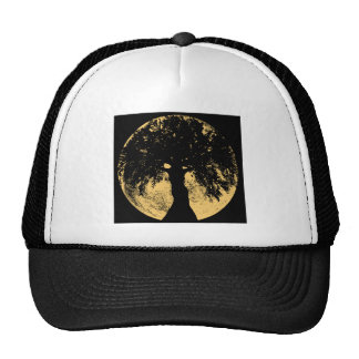 Glowees Moon Oak Goddess Mesh Hats