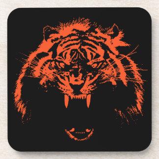 Glowees Tiger Beverage Coasters