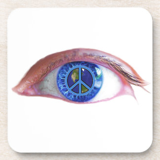 Glowees Visualize World Peace Drink Coasters