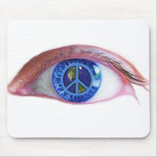 Glowees Visualize World Peace Mouse Pad