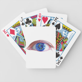 Glowees Visualize World Peace Bicycle Playing Cards