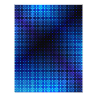 Glowing Abstract Background 21.5 Cm X 28 Cm Flyer