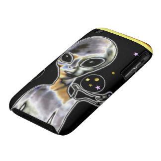 Glowing Alien - iPhone 3 Cases