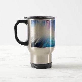 Glowing Audio Waveform Mug