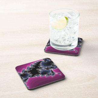 Glowing Blue Beverage Coasters