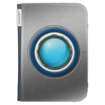 Glowing Blue Orb Cases For Kindle