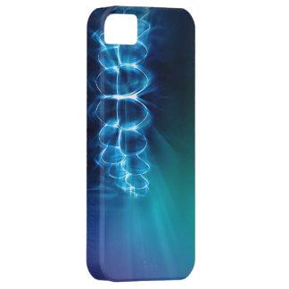 Glowing Blue Teeth Smile Dentist iPhone Case