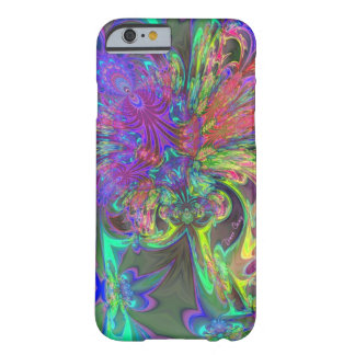 Glowing Burst of Color – Teal & Violet Deva Barely There iPhone 6 Case