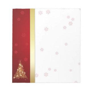 Glowing Christmas Tree - Notepad