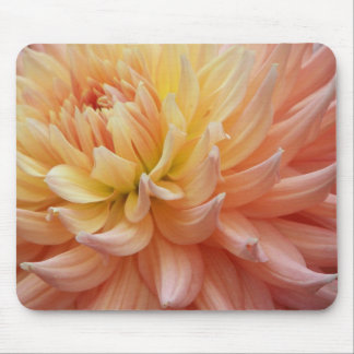 Glowing Dahlia Floral Mouse Mat
