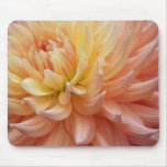 Glowing Dahlia Floral Mouse Pad