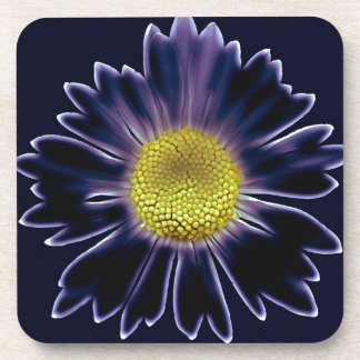 Glowing Daisy Drink Coaster
