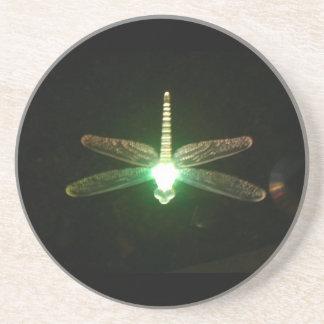 Glowing Dragonflies Coaster