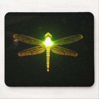 Glowing Dragonfly Mouse Mat