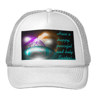 Glowing Easter Eggs White Hat
