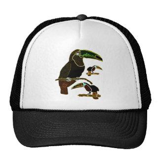 Glowing Edges Toucan Hats