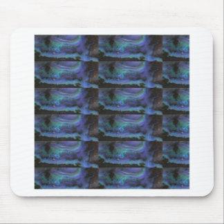 GLOWING Elegant Blue Crystal Decorations Mousepads