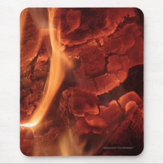 Glowing Embers Mouse Pad