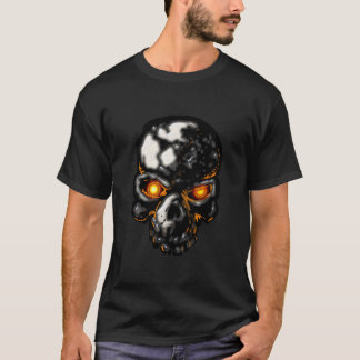 Glowing Eyes Skull T-Shirt