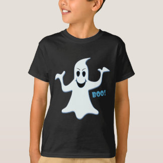 Glowing GHOST Boo! Design T-Shirt