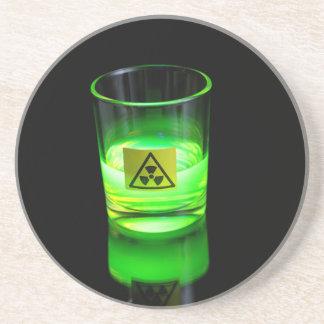 Glowing Glass Drink Coaster